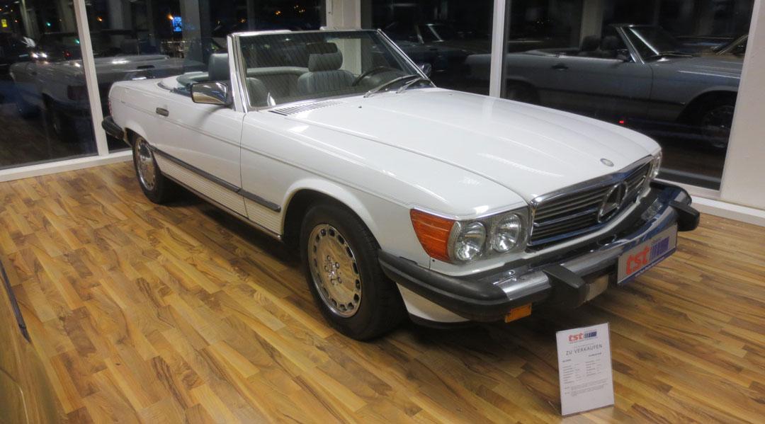 560SL R107 35.000,-€