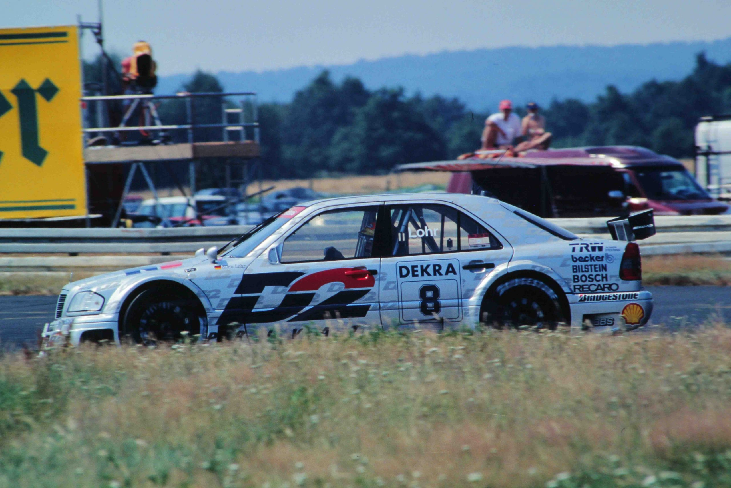 Two years in the DTM, two championships in historic touring car racing: a beautiful, fast star. An investment.