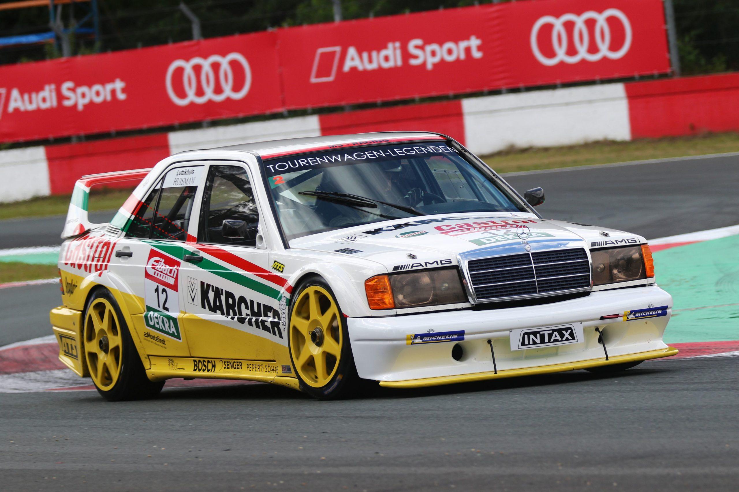 tst-sport-und-technik-DTM-Classic-2021-Zolder–Gerbert-Luttikhuis-AMG-Mercedes-190-E-1992